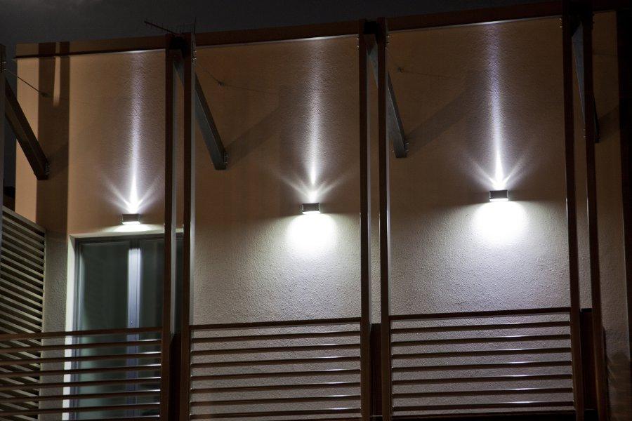 Illuminazione esterni bergamo lampade personalizzate bergamo due